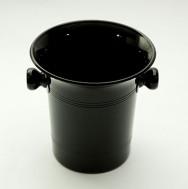 Sektkühler, schwarz