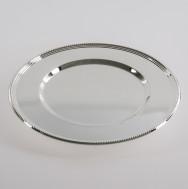 Platzteller - Silber